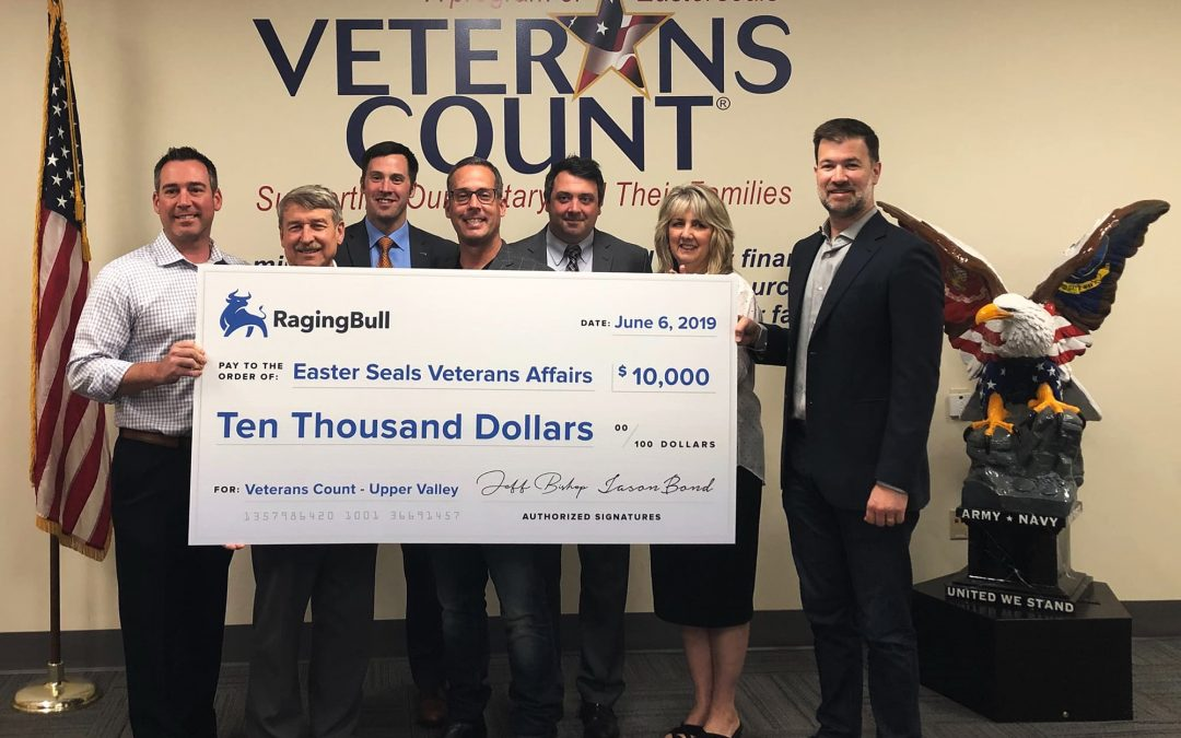 Easterseals Veterans Count: $10,000 Donation