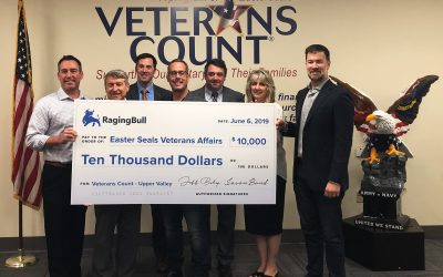 Easterseals Veterans Count$10,000